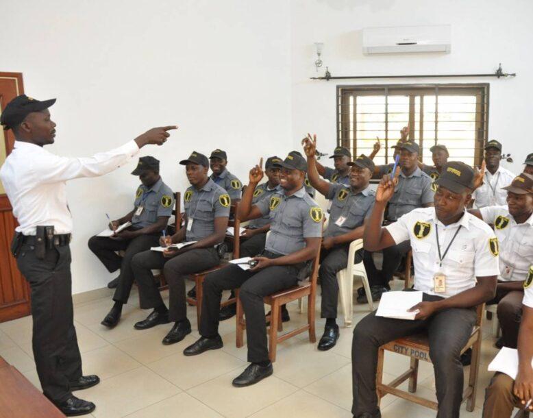 Formation des agents de sécurité privée