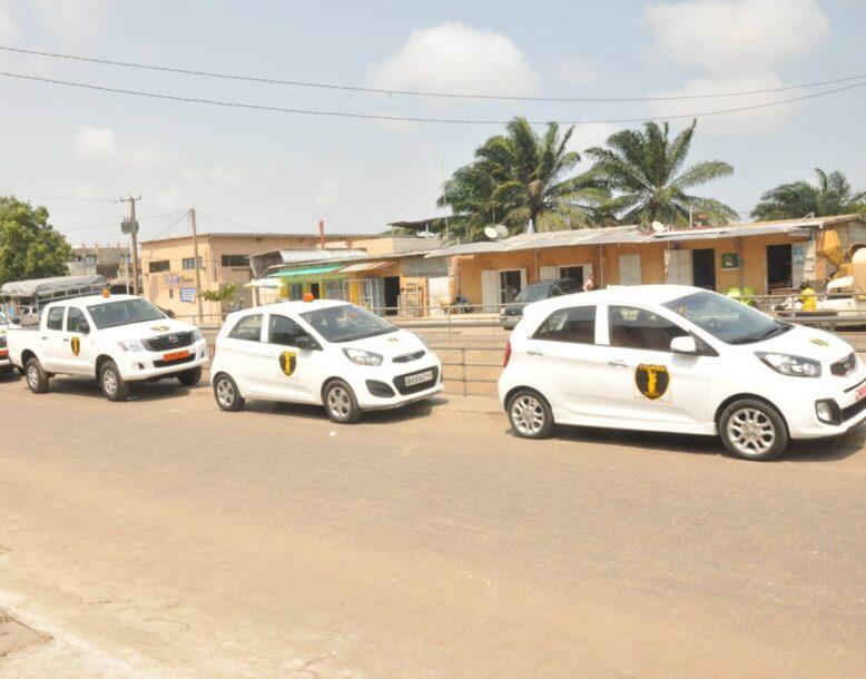 Vehicule d'intervention de sécurté de citypool